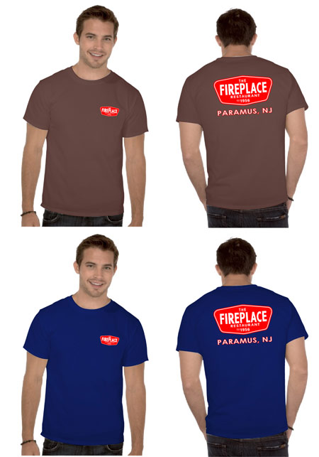 the fireplace t-shirts