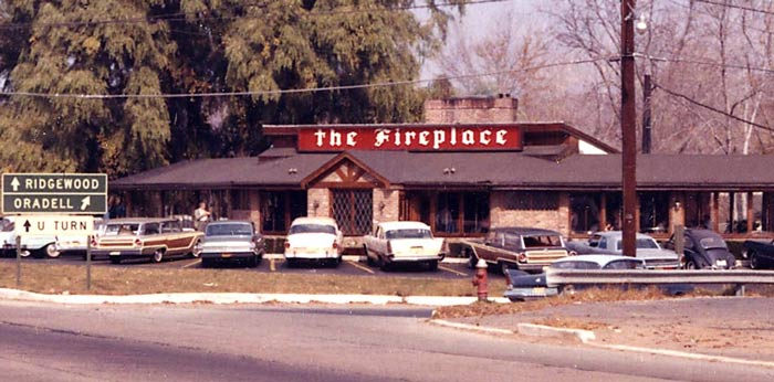 The Fireplace Restaurant circa 1965